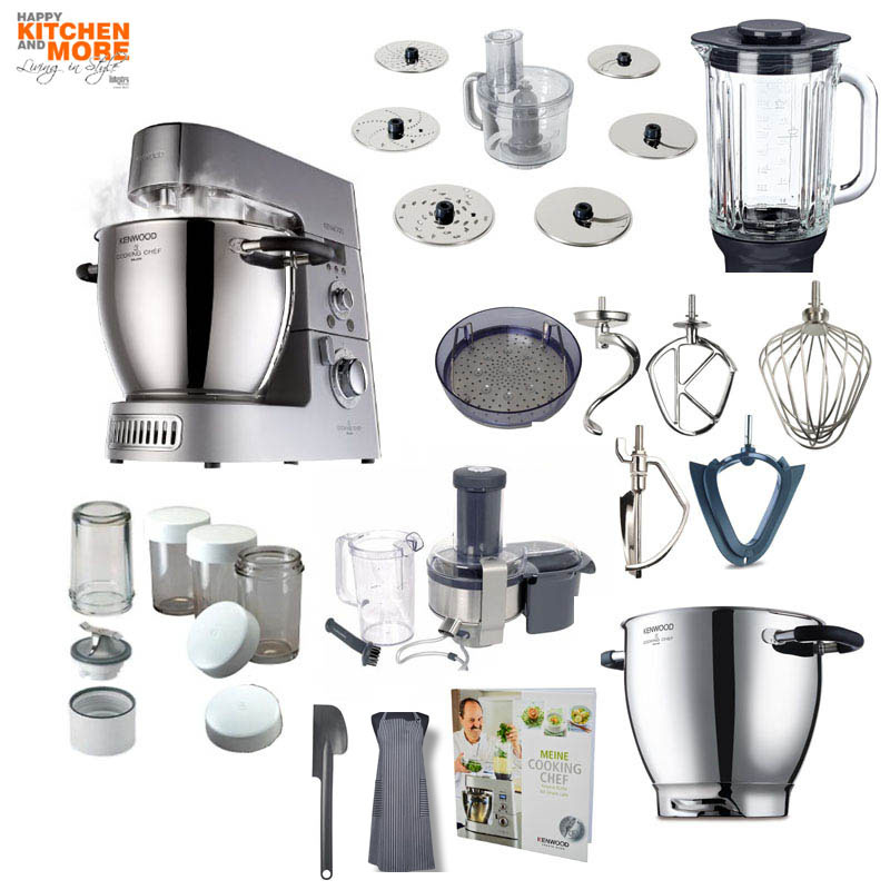 Kenwood KM 096 Cooking Chef mit Entsafter-Paket