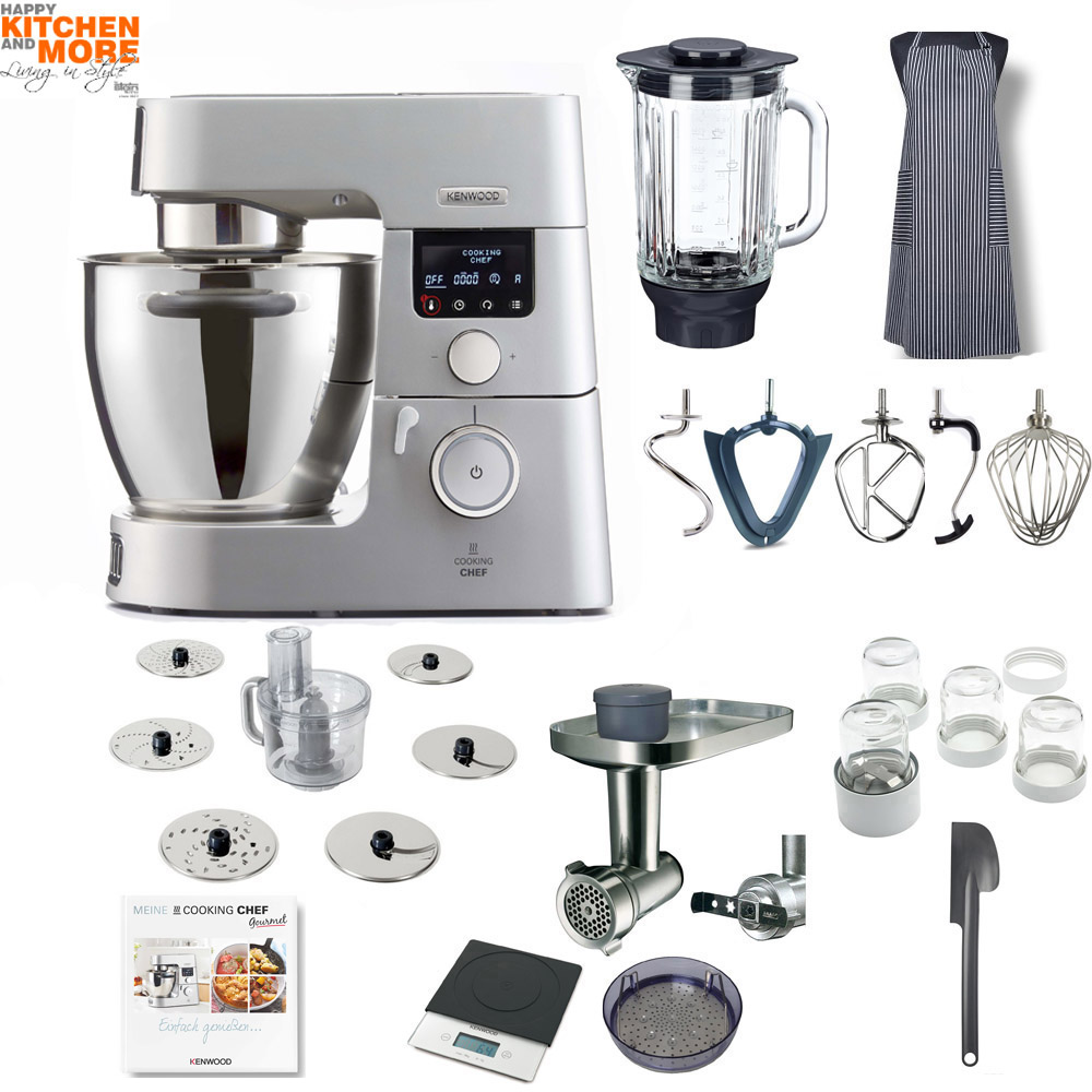 Kenwood KCC 9060S Cooking Chef Gourmet mit Profi-Paket