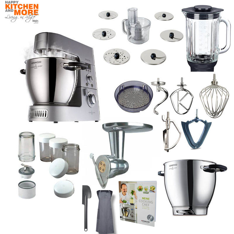 Kenwood KM 096 Cooking Chef mit Nudel-Paket