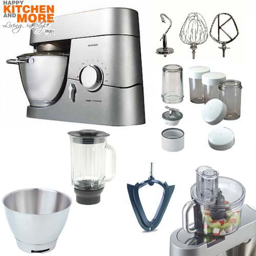 kenwood titanium chef k chenmaschine kmc 050 multi paket. Black Bedroom Furniture Sets. Home Design Ideas