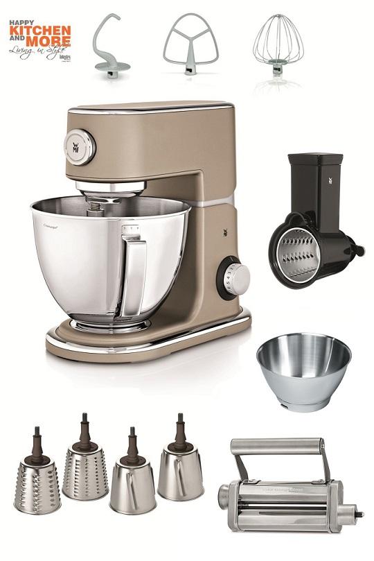 WMF Profi Plus Küchenmaschine inkl. Super-Paket in Platin Bronze