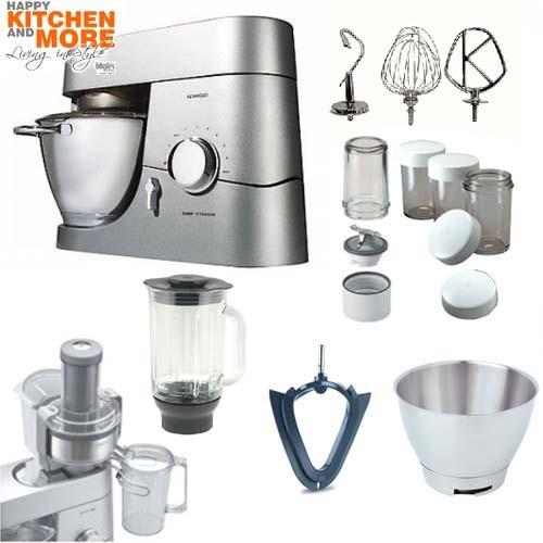 kenwood titanium chef küchenmaschine kmc 050  ~ Entsafter Ebay